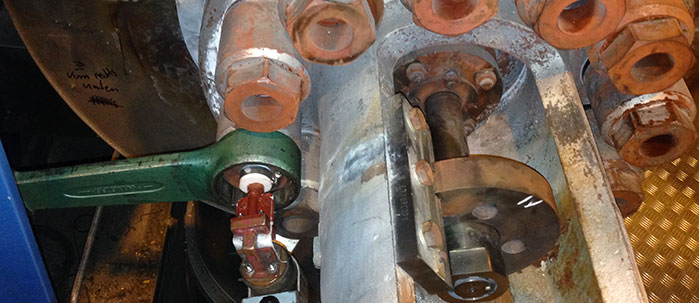 On-Site induction Bolt Heating services