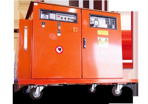 Machine de serrage par induction de First Bolting