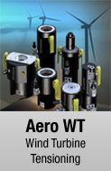 Aero WT hydraulic bolt tensioner available for sale and rental at First Bolting
