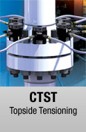 CTS hydraulic bolt tensioner available for sale and rental at First Bolting