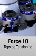 Force 10 hydraulic bolt tensioner available for sale and rental at First Bolting