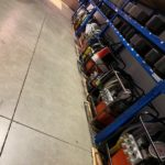 Rental of hydraulic pumps and impact sockets