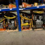 Rental of hydraulic pumps